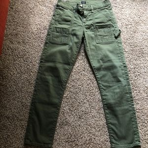 Citizens of Humanity Army Green Jean Size 24